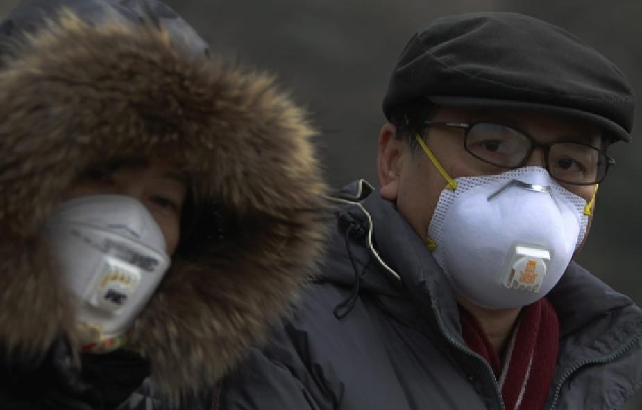 Zanieczyszczenie w Pekinie zagraża zdrowiu