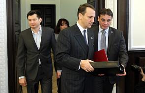 Sikorski wręczył nominacje ambasadorom