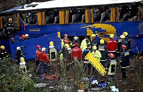 Portugalia: wypadek autokaru, 11 ofiar