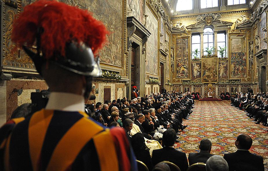 Papież do dyplomatów przy Stolicy Apostolskiej