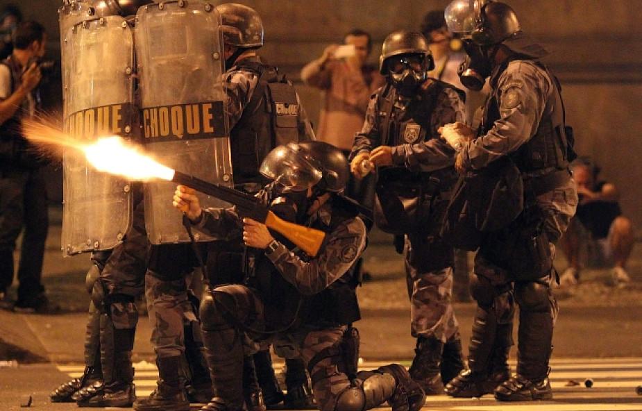 Brazylia: policja starła się z nauczycielami