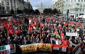 Wielotysięczne demonstracje w Lizbonie i Porto