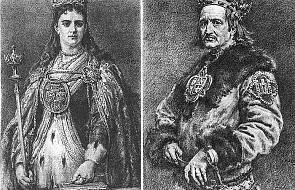 Polsko-litewska para królewska w Budapeszcie