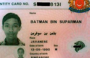 Singapur: Batman aresztowany za kradzież