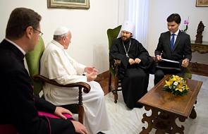 Watykan: papież przyjął metropolitę Hilariona