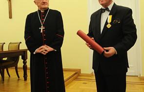 Papieski medal dla prof. Henryka Skarżyńskiego