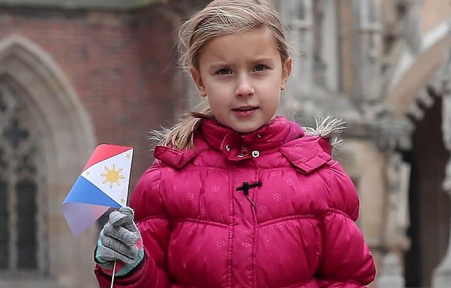 Filmowa zachęta do pomocy Filipińczykom