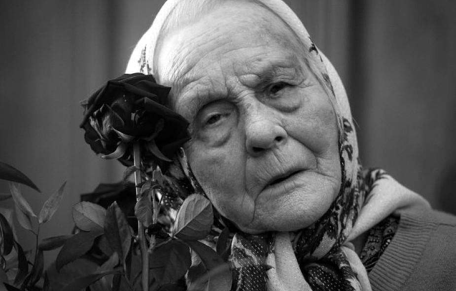 Nie żyje Marianna Popiełuszko