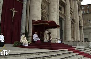 Franciszek podziękował Benedyktowi XVI