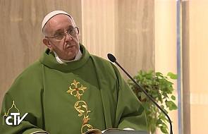 Papież: możemy stać się panami chwili, ale...