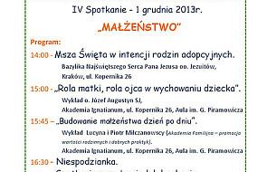 IV Małopolskie Spotkania Rodzin Adopcyjnych