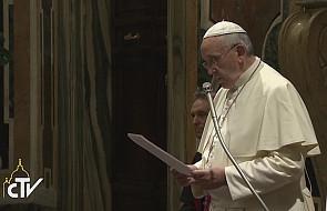Papież Franciszek podziękował za choinkę