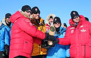 Książę Harry dotarł na biegun południowy