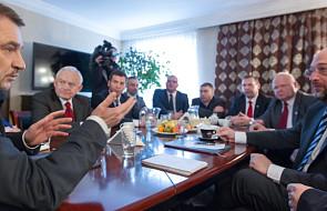 Martin Schulz spotkał się z liderami związków
