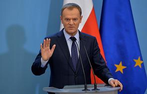 Tusk w w czwartek na szczycie UE ws. Ukrainy