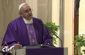 Papież: pyszni dotknięci są bezpłodnością
