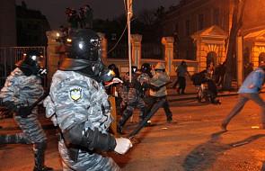 """Janukowycz ocenił, że milicja """"przesadziła"""""""
