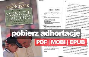 """Pobierz adhortację """"Evangelii Gaudium"""" za darmo"""
