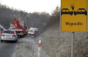 W weekend na drogach zginęło 36 osób