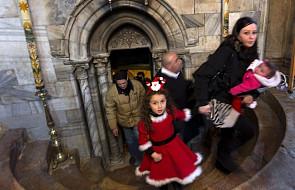Ziemia Święta: ponad 75 tys. pielgrzymów