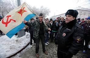 Policja rozpędziła manifestację w Wołgogradzie