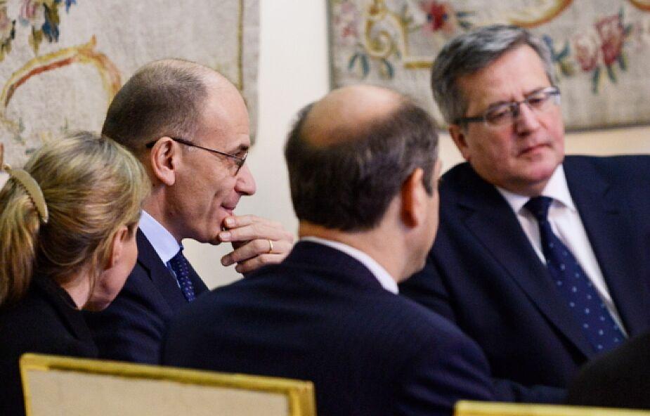 Rozmowy prezydenta o sytuacji na Ukrainie