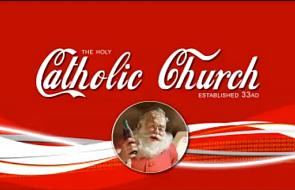 Reklama o prawdziwym świętym Mikołaju