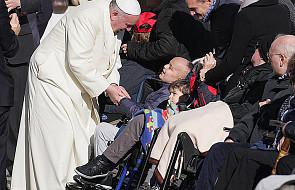 Papież i przesłanie na Światowy Dzień Chorego