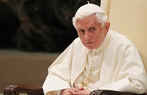 Benedykt XVI ogłosił, że ustąpi 28 lutego
