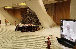 Pierwsza audiencja Benedykta XVI po rezygnacji