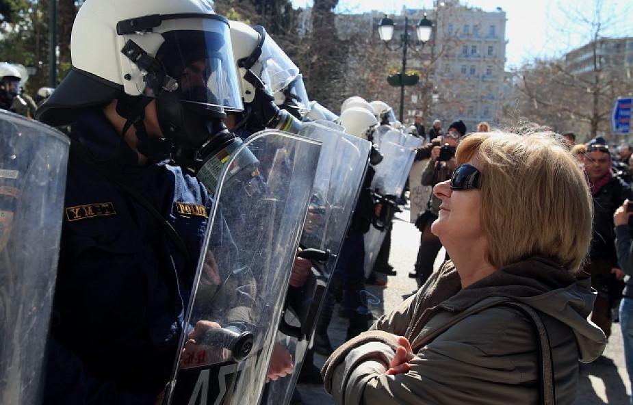 Grecja: starcia policji z demonstrantami