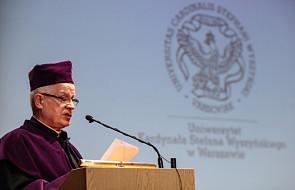 Abp Michalik doktorem honoris causa UKSW