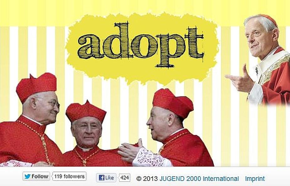 Wpłyń na wynik konklawe. Adoptuj kardynała