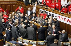 Ukraina: Trwa blokada parlamentu