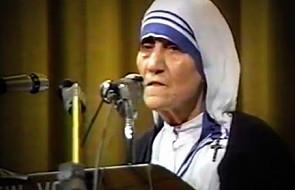 Matka Teresa: aborcja zabija sumienie matki