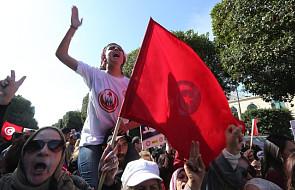Mężczyzna podpalił się w centrum Tunisu