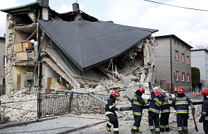 W Siemianowicach Śląskich zawalił się budynek