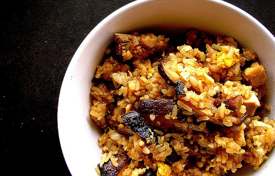 Szybkie i proste risotto z pieczarkami