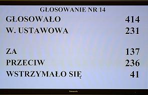 Ziobro: wniosek PiS nie miał szans