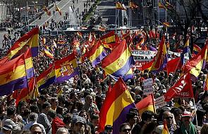 Manifestacja w Madrycie przeciwko monarchii