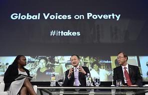 Wielka zapowiedź walki z ubóstwem na świecie