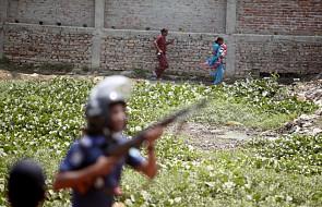 Bangladesz: Starcia policji z demonstrantami