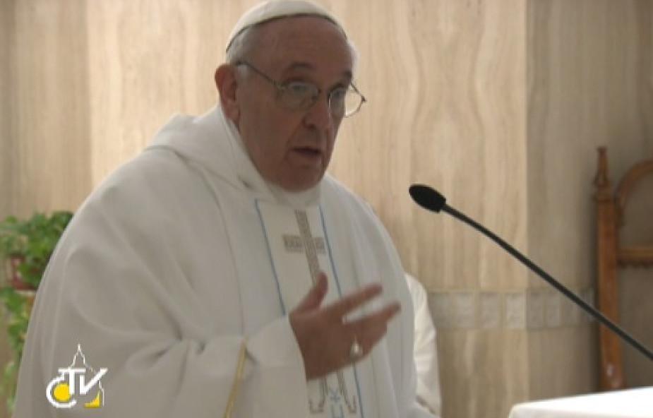 Franciszek: trzeba głosić Chrystusa z radością