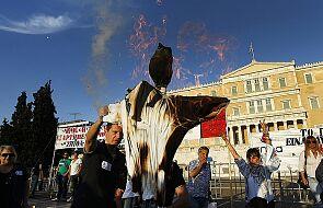 Grecja: protest przeciwko planom zwolnień