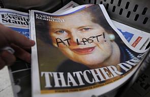 Sinn Fein: Nie świętować śmierci Thatcher