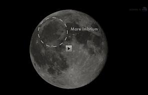Gigantyczny wybuch na Księżycu