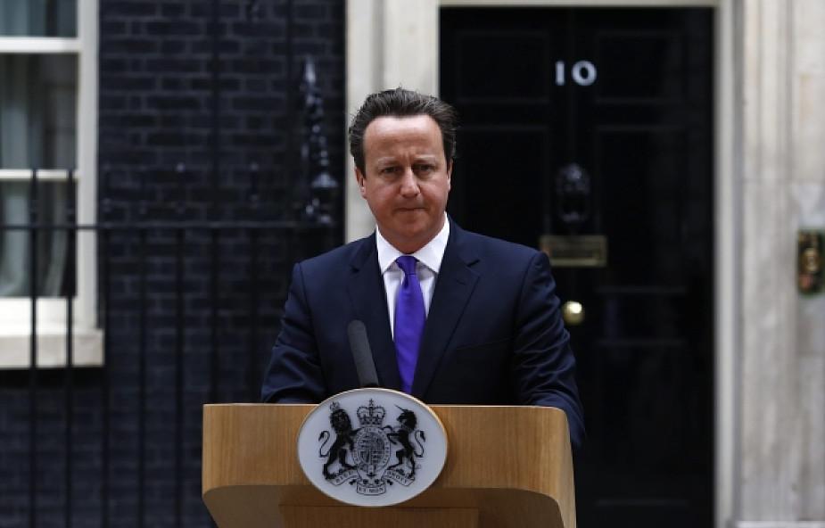Premier Cameron w sprawie mordu w Londynie