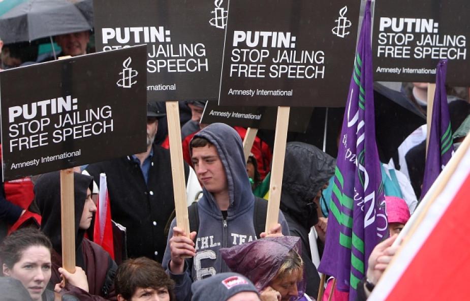 Belfast protestuje przeciw szczytowi G8