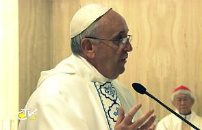"""Franciszek: Jezus """"stał się grzechem"""""""