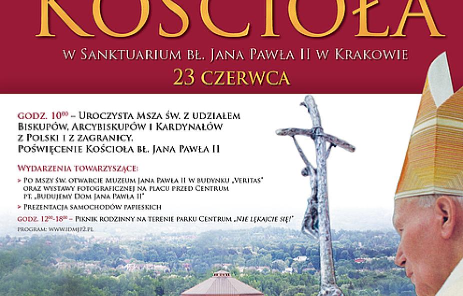 Otwarcie Kościoła bł. Jana Pawła II